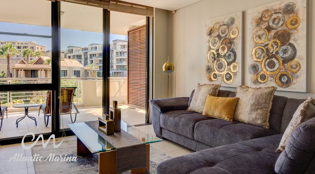 Juliette 102 Atlantic Marina Cape Town Waterfront Luxury Self-catering Apartment Accommodation South Africa